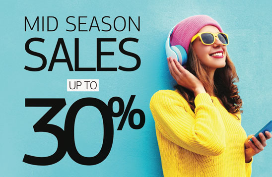 Mid Season Sales -30%