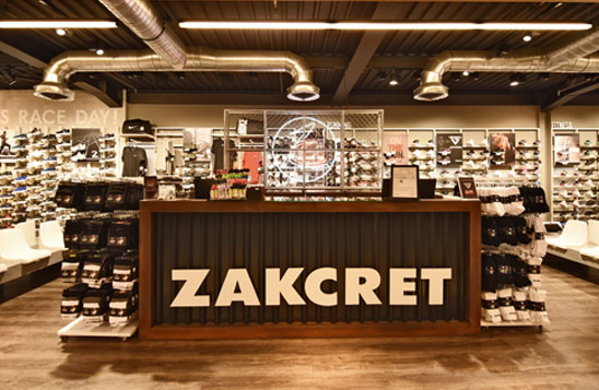 zakcret sports Shopping House